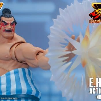 Street Fighter V E. Hondo Wants to Fight with Storm Collectibles
