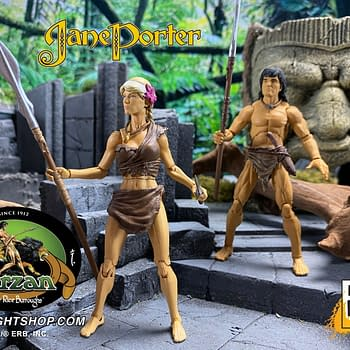 Tarzan Swings on in With New Figures From Boss Fight Studio