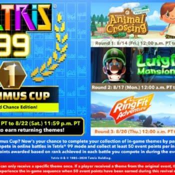 The Next Tetris 99 Maximus Cup Will Revolve Around Three Games