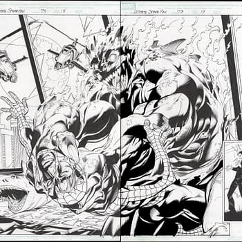 Mark Bagley Ultimate Spider-Man Spread Auction On ComicConnect
