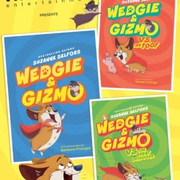 Kinsane Nabs Media Rights for Middle-Grade Trilogy Wedgie & Gizmo