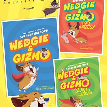 Kinsane Nabs Media Rights for Middle-Grade Trilogy Wedgie &#038 Gizmo