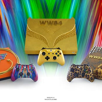 Xbox Is Giving Away Three Custom Wonder Woman Consoles