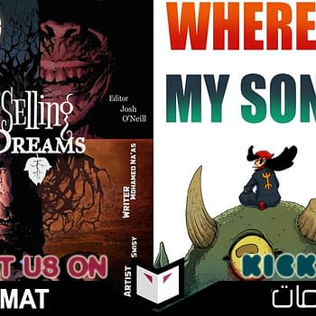 Supporting New Comics from New Creators in the Middle East