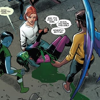 Whats Up With Alicia Grimm In Marvel Comics Empyre