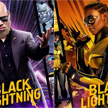 Black Lightning Key Art Offers 2021 Reminder Ahead of Next DC FanDome