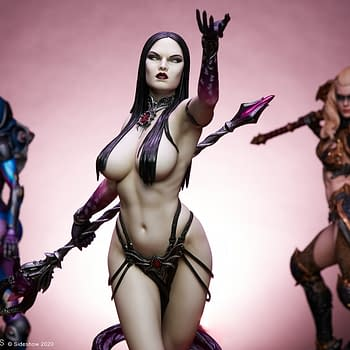 Sideshow Collectibles Original Statue Dark Sorceress Revealed
