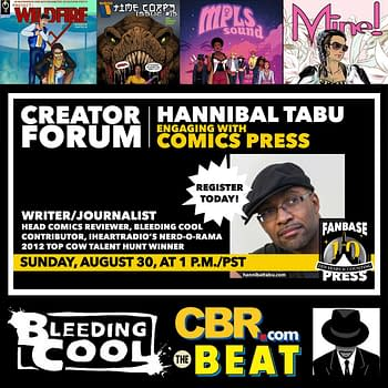 Fanbase Press Hosts Hannibal Tabu in Engaging With Comics Press