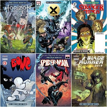Marvel, Titan, Dark Horse Release Free Comic Book Day 2020 Digitally