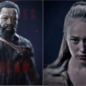 Morgan and Alicia from Fear the Walking Dead season 6 (Image: AMC)