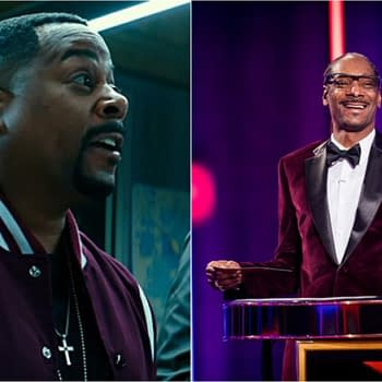 Snoop Dogg Martin Lawrence Teaming for Political Drama Series Game