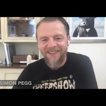 When The 13 Year-Old Simon Pegg Discovered Forbidden Planet Existed