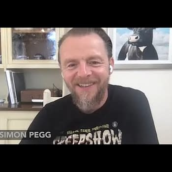 When The 13-Year-Old Simon Pegg Discovered Forbidden Planet Existed