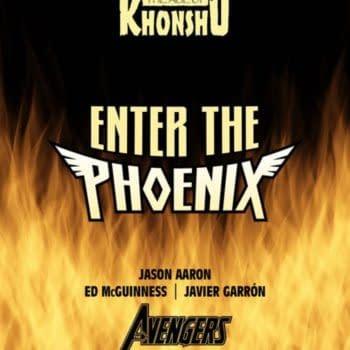 Jason Aaron, Ed McGuinness, Javier Garron Enter The Phoenix in Avengers