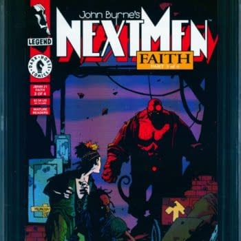 Early Hellboy In Competitive Auction - Next Men #21 CGC 9.0 Vs 9.6