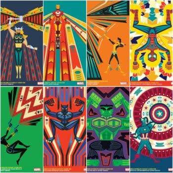 Jeffrey Veregge Creates Native American Heritage Variant Covers for Marvel