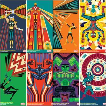 Jeffrey Veregge Creates Native American Heritage Variants for Marvel