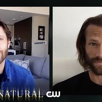 Supernatural Stars Jared Padalecki Jensen Ackles Make It Official