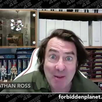 Jonathan Ross Cleaners Threw Away Original Art From Forbidden Planet