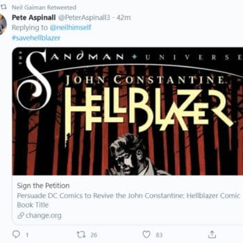 """Neil Gaiman Approves Of """"Save Hellblazer"""" Campaign"""