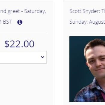 $22 To Speak To Scott Snyder, Tom King, Greg Capullo For 3 Minutes