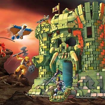 We Revisit the MOTU Mega Contrux Castle Grayskull from Mattel