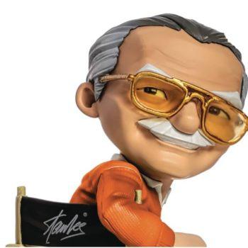 Stan Lee Gets Iron Studios PX Exclusive Directors Chair Statue