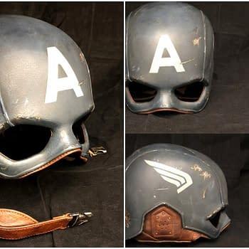 Captain America Costume Pieces at Auction