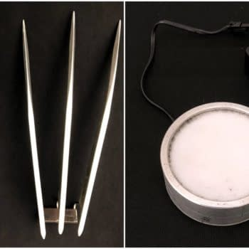 Marvel Props for Auction - Snikt Sounds Not Included