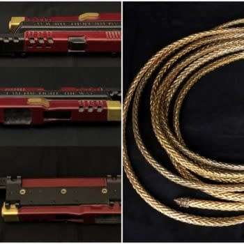 Deadshot's Wrist Gun and Wonder Woman's Lasso Are Up For Auction