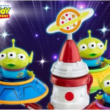 Toy Story Aliens Get A Spinning UFO Collectible with Beast Kingdom