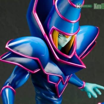 Yu-Gi-Oh Dark Magician and Dark Magician Girl Return with Kotobukiya