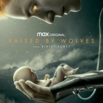 A look at key art for Raised by Wolves (Image: HBO Max)