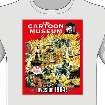 2000AD Revives Invasion 1984 To Help Londons Cartoon Museum in 2020