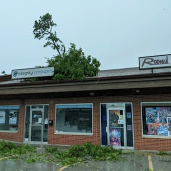 When A Derecho Hits Your Comic Shop &#8211 Comic Store In Your Future