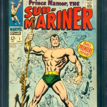 Sub-Mariner #1 Up For Auction On ComicConnect Today