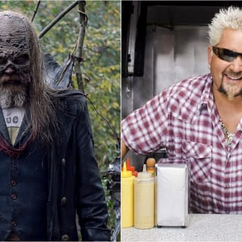 The Walking Dead isn't happy with Smash Mouth (Images: AMC/Food Network)