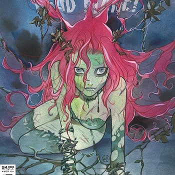 Peach Momoko Draws Poison Ivy Rorschach and Commanders In Crisis