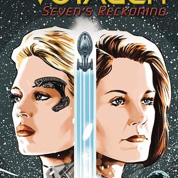 Seven Of Nine Gets Her Own Star Trek Voyager Comic Sevens Reckoning