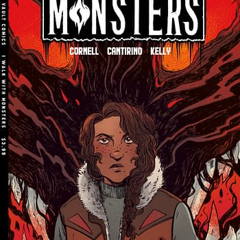 Paul Cornell Brings I Walk With Monsters to Vault Comics November