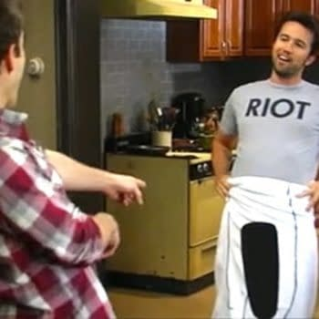 Mac unveils D*ck Towel on It's Always Sunny in Philadelphia (Image: FX Networks)