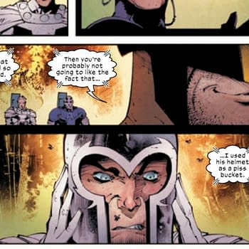 Confirmed: Wolverine Did Use Magnetos Helmet as a Urinal