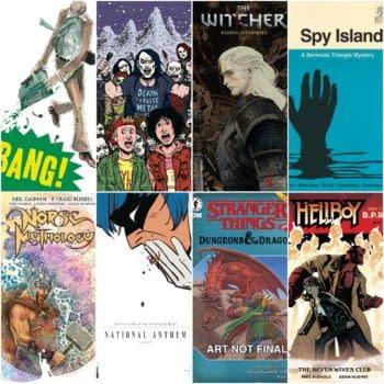 Dark Horse Comics November 2020 Solicitations