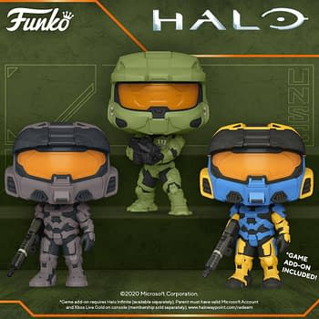 Halo Infinite Gets Its Own Wave of Pop Vinyls from Funko