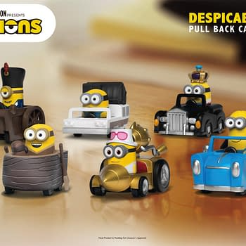 The Minions Hit the Streets With Collectible Cars from Beast Kingdom