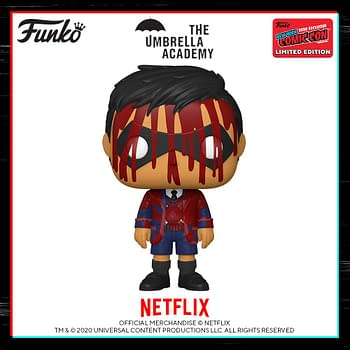 Funko NYCC 2020 Reveals Possible 2000LE Umbrella Academy Pop