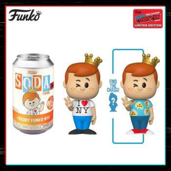 Funko NYCC 2020 Day 4 Reveals Ends with Freddy Funko Soda