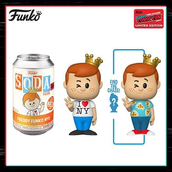 Funko NYCC 2020 Day 4 Reveals Ends with Freddy Funko Soda