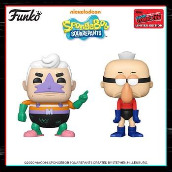 Funko New York Comic Con Reveals &#8211 The Simpsons &#038 Spongebob