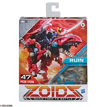 ZOIDS Takes the Stage with Full Wave of Reveals from Hasbro